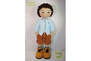 Print on Demand: Quique Extra Large Crochet Doll Pattern Graphic Crochet Patterns By LetoDolls