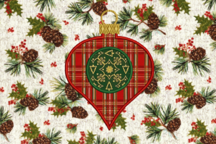 Glass Onion Ornament Christmas Embroidery Design By DesignedByGeeks