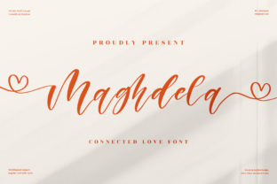 Print on Demand: Maghdela Script & Handwritten Font By perspectype