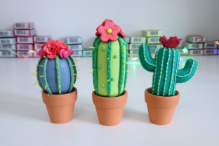 Making Miniature Cacti with Polymer Clay Classes By claydisarray