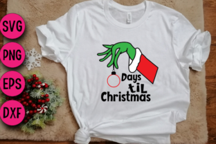 Print on Demand: Days Til Christmas SVG PNG, Christmas Graphic Crafts By Bride Squad
