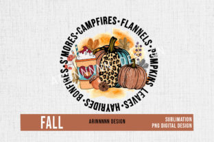 Print on Demand: Fall Sublimation Design Png Graphic Print Templates By Arinnnnn Design