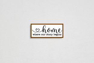Farmhouse Sign SVG Bundle Graphic Crafts By Rumi Designed 6