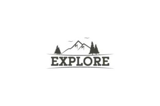 Mountain Explore Nature & Outdoors Craft Cut File By Creative Fabrica Crafts