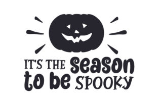 It's the Season to Be Spooky Halloween Craft Cut File By Creative Fabrica Crafts