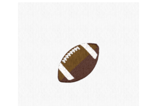 Football Sports Embroidery Design By Scrappy Remnants