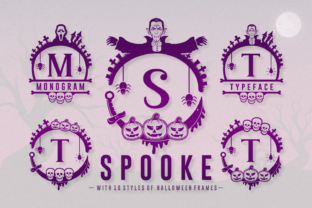 Print on Demand: Spooke Decorative Font By Dito (7NTypes)