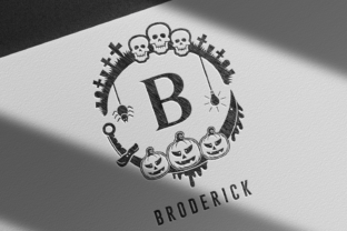 Print on Demand: Spooke Decorative Font By Dito (7NTypes) 5