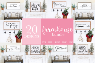 Farmhouse Sign Svg Bundle Graphic Crafts By Rumi Designed