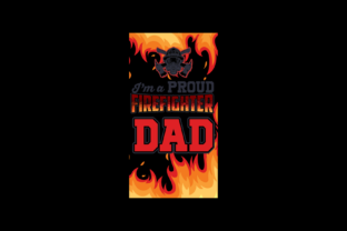 Firefighter Dad Graphic 3D SVG By Exclusive Store