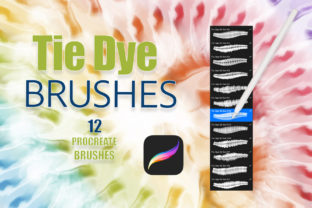 Procreate Realistic Tie Dye Brushes Vol2 Graphic Brushes By FolkStyleStudio