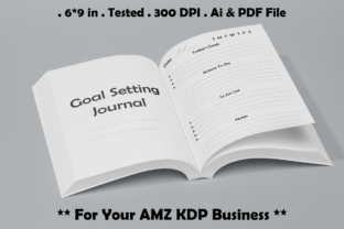 Goal Setting Journal - Kdp Interiors Graphic KDP Interiors By Kdp Speed 1