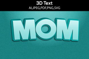3D Text Design SVG Cut File Graphic 3D SVG By sifatevan2