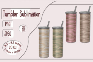 Print on Demand: Skinny Tumbler Abstract Designs Graphic Crafts By LilianaArt