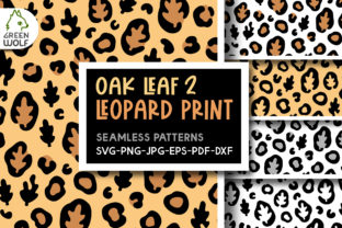 Fall Leopard Print Svg Graphic Crafts By GreenWolf Art