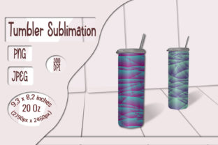 Print on Demand: Skinny Tumbler Gradient Sublimation Graphic Crafts By LilianaArt