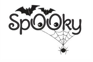Spooky Halloween Embroidery Design By NinoEmbroidery