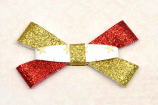Strait Bow Template Graphic 3D SVG By ArtiCuties