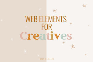 Web Elements, Icons for Creatives Graphic Web Elements By Brand