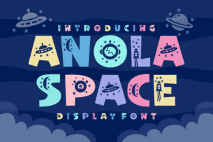 Print on Demand: Anola Space Decorative Font By Dito (7NTypes)