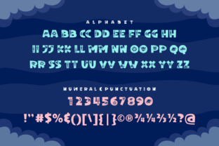 Print on Demand: Anola Space Decorative Font By Dito (7NTypes) 4