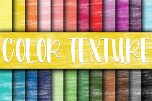 Print on Demand: Color Texture Digital Papers Graphic Textures By oldmarketdesigns
