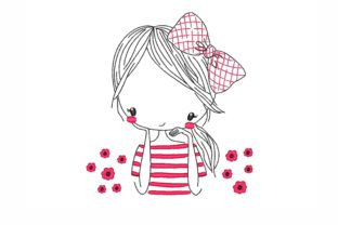 Girl Boys & Girls Embroidery Design By NinoEmbroidery