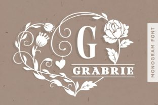 Print on Demand: Grabrie Decorative Font By Situjuh