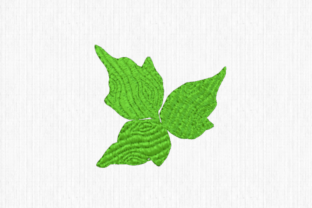Poison Ivy Single Flowers & Plants Embroidery Design By Scrappy Remnants