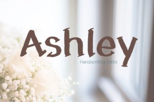 Print on Demand: Ashley Display Font By PeamCreations 1
