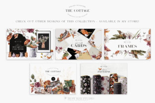 Print on Demand: Autumn Compositions Watercolor PNG Graphic Illustrations By Busy May Studio 5