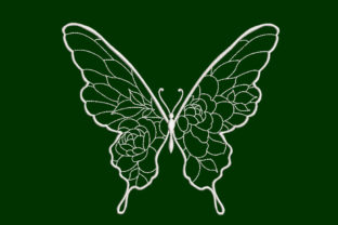 Butterfly Bugs & Insects Embroidery Design By Canada Crafts Studio