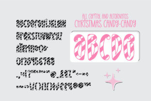 Print on Demand: Christmas Candy Display Font By BitongType 13