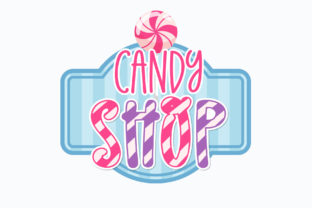 Print on Demand: Christmas Candy Display Font By BitongType 2