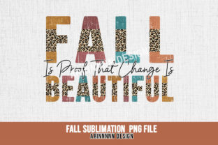 Print on Demand: Fall Sublimation Design Graphic Print Templates By Arinnnnn Design 10