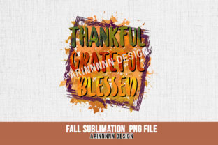 Print on Demand: Fall Sublimation Design Graphic Print Templates By Arinnnnn Design 3