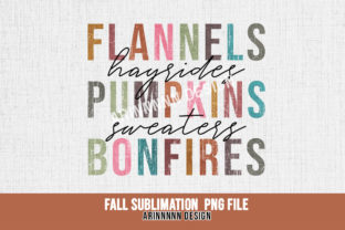Print on Demand: Fall Sublimation Design Graphic Print Templates By Arinnnnn Design 4
