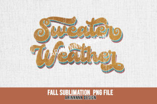 Print on Demand: Fall Sublimation Design Graphic Print Templates By Arinnnnn Design 7