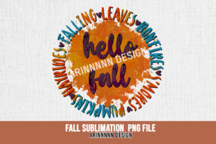 Print on Demand: Fall Sublimation Design Graphic Print Templates By Arinnnnn Design 8