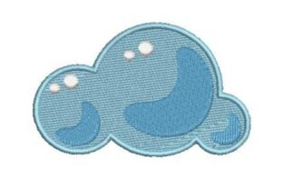 Cloudy Weather Summer Embroidery Design By Embroidery Designs