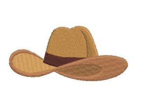 Cowboy Hat Cowboy & Cowgirl Embroidery Design By Embroidery Designs