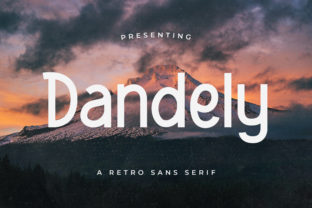 Print on Demand: Dandely Display Font By TypeFactory