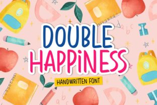 Print on Demand: Double Happiness Script & Handwritten Font By Situjuh