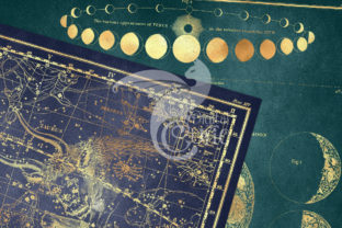 Print on Demand: Gold Star Maps Graphic Textures By Digital Curio 2