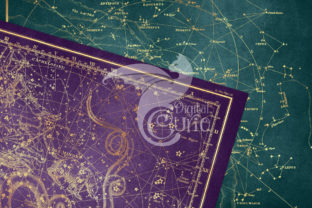 Print on Demand: Gold Star Maps Graphic Textures By Digital Curio 3