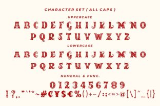 Print on Demand: Merry Jolly Decorative Font By HansCo 6