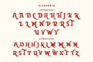 Print on Demand: Merry Jolly Decorative Font By HansCo 7