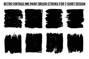 Print on Demand: Paint Brush Stroke Graphic Crafts By T-Shirt Tees