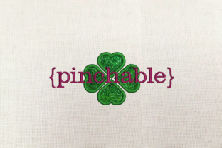 St. Patrick's Day Pinchable Applique St Patrick's Day Embroidery Design By DesignedByGeeks