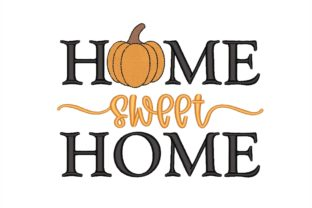 Sweet Home House & Home Quotes Embroidery Design By NinoEmbroidery